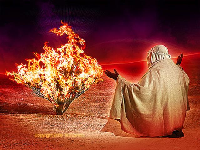 God's Commandment To Moses