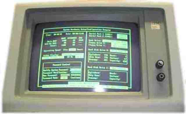 IBM desarrolla la primer tarjeta gráfica