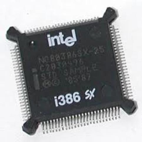 Microprocesador 386 SX de Intel