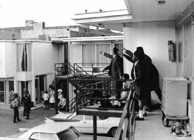 Martin Luther King, Jr., is assassinated in Memphis, Tennessee.