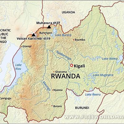 Rwanda's Economic Development timeline
