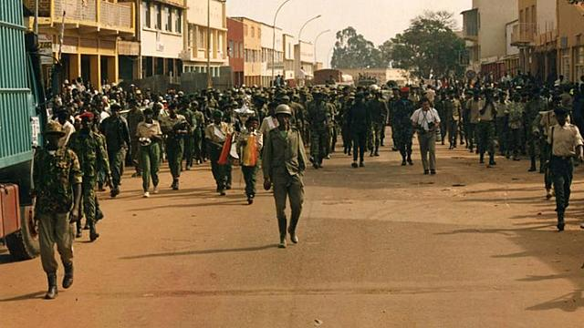 RPF liberation of Kigali