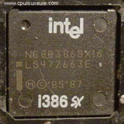 INTEL 386 SX