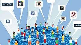 История социальных сетей timeline