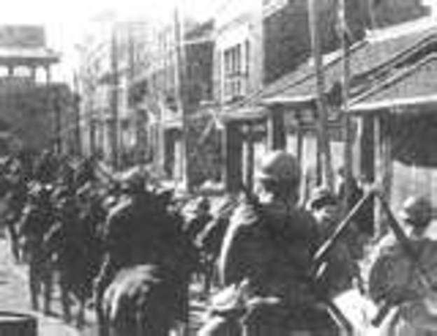 Japanease invasion of Manchuria