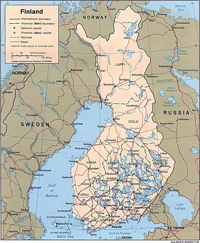 Russian army into Finland ( Finns surrender in three months)