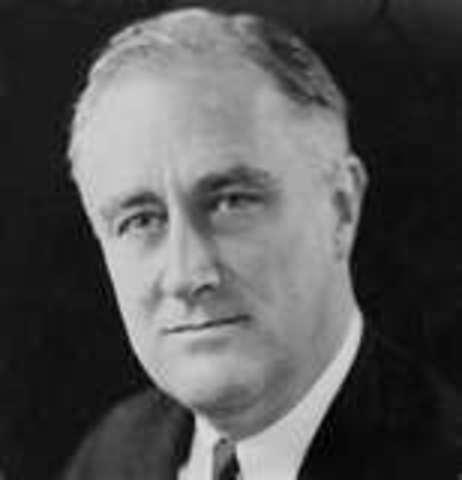 Roosevelt take office