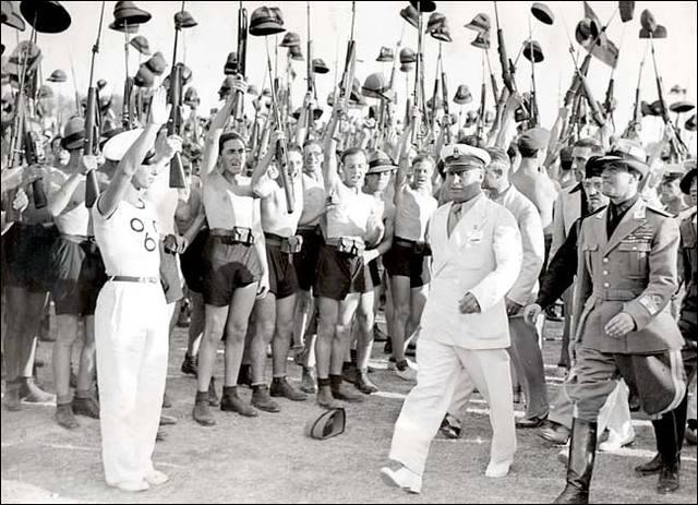 Italian troops conquer Ethiopia