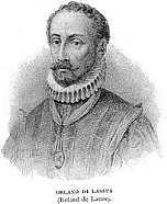 Orlando di Lasso (1553-1594)