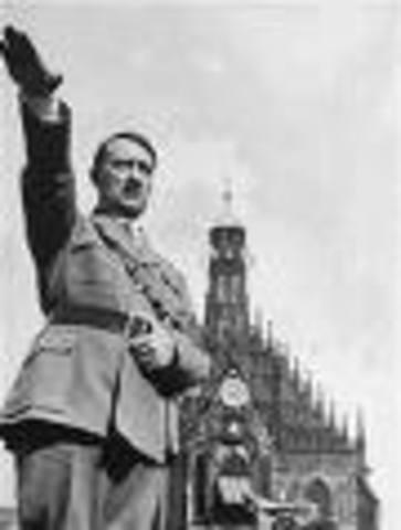Hitler becomes Chancelor of Germany