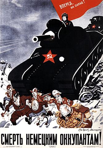 Los nazis invaden Rusia