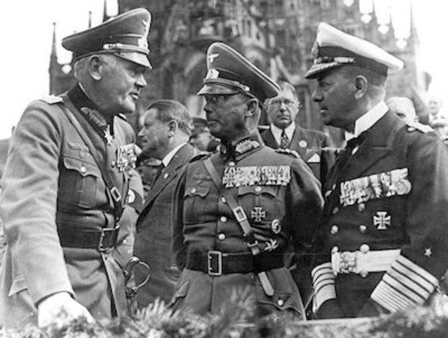Hitler anounces secret plans for lebensraum