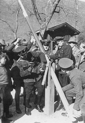 Hitler takes Austria