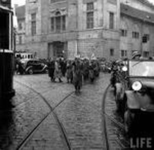 czechoslovakian falls to hitler