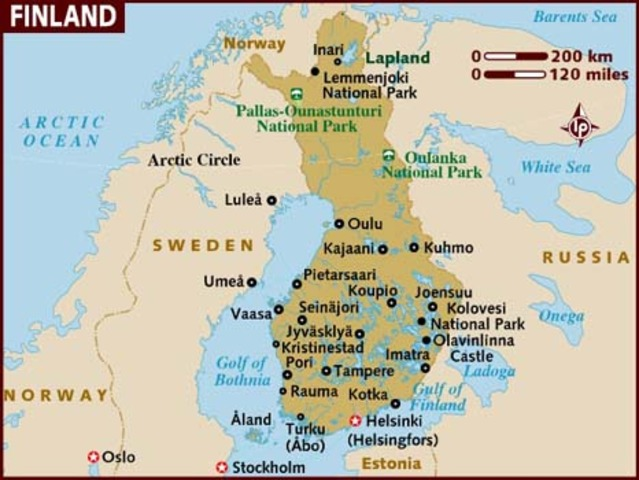 Russian army into Finland