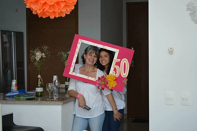 Los 50 años de mi mama
