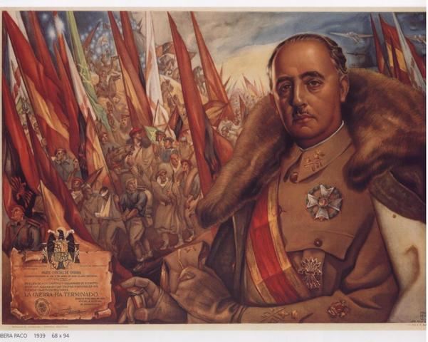 Franco is sucessful in Spain