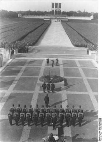 Hitler announces seceret plans for lebensraum