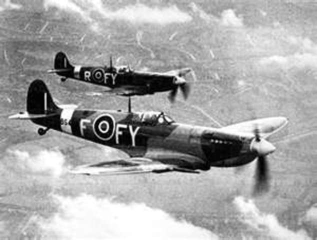 Plans for an invasion of Great Britain; beginning of the battle of britain
