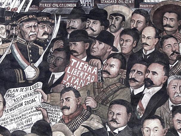Fin del periodo presidencial de Porfirio Díaz