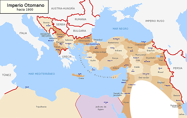 El Imperio Otomano renuncia a sus territorios Europeos *