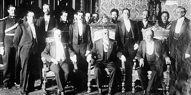 Victoriano Huerta llega al poder