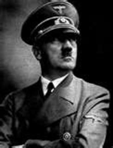 hitler becomes chancellor of germany, establising the third reich