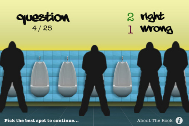 Hachette Book Group: Urinal Test