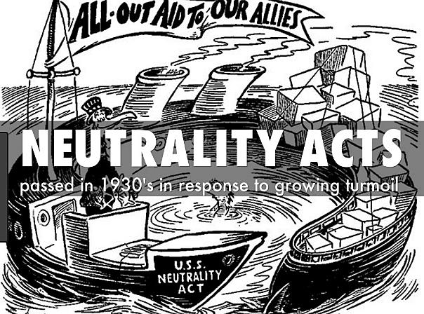 2nd neutrality act