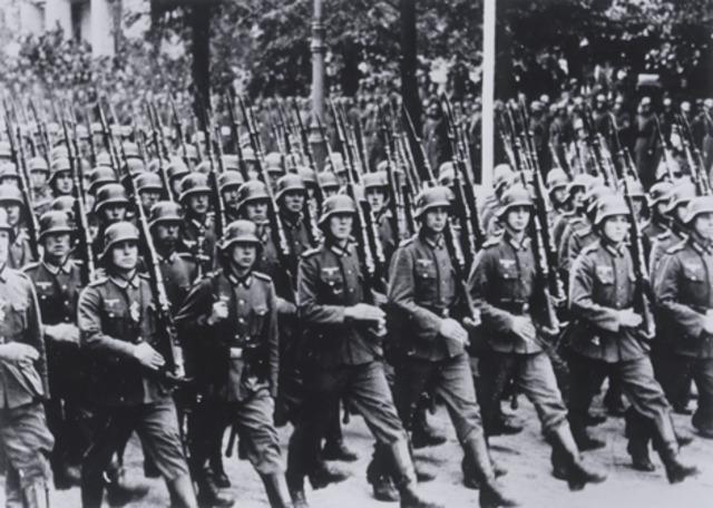 Hitler annouces secret plans for lebensraum