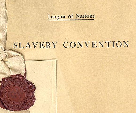 Convención de la Esclavitud *