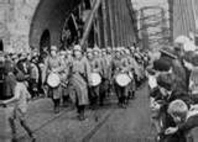 German troops invade Rhinland