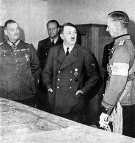 Hitler announces secret plans for lebensraum