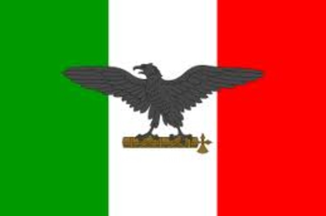 Fascist Party established under Muissolini in Italy