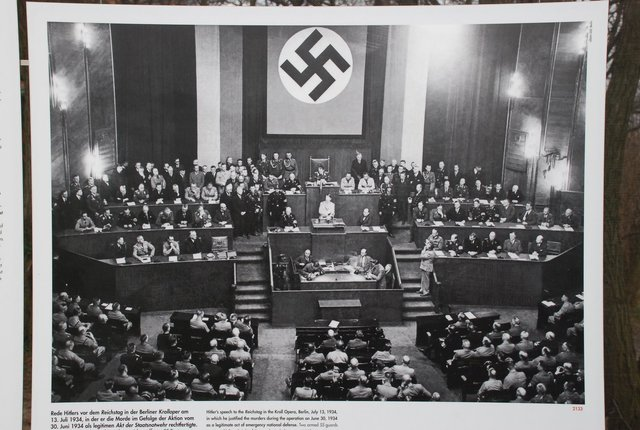 Hitler becomes Chancellor of Gemany, establishing the Third Reich