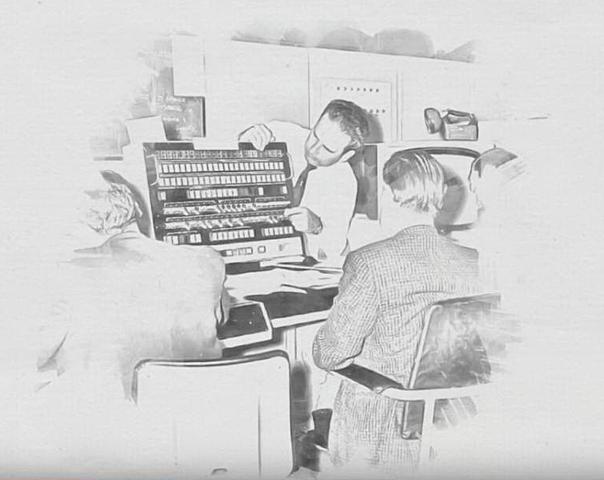 Premier message d'ARPANET