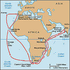 Route to Asia
