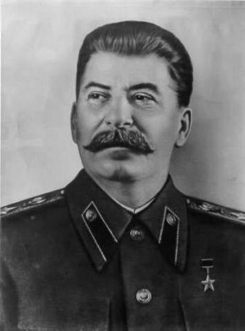 Joseph Stalin takes contol of the USSR