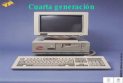 Cuarta generacion de cmputadoras
