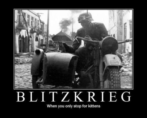 German invaison of Poland; blitzkreig