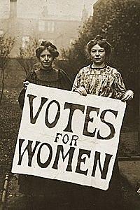 Reconocimiento del voto femenino