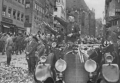 Alemania anexó Austria y parte de Checoslovaquia