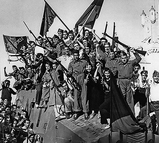 Cae La Republica Española