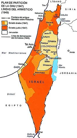 Crece la población Judia en palestina