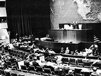 La ONU divide Palestina