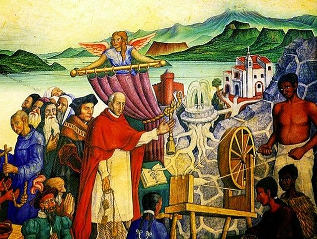 Llegada a la Nueva España