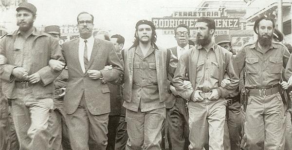 Los revolucionarios Desenbarcan en Cuba