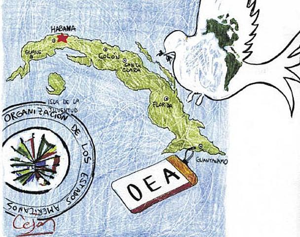 Ecpulsion de Cuba de la OEA
