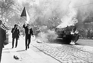 Rusia Ocupa a Checoslovaquia