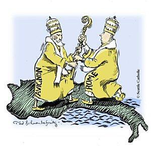 The Catholic Church: Papal Schism